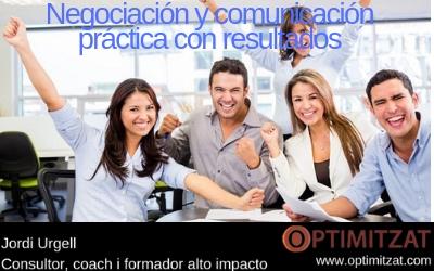 Taller práctico de Negociación y comunicación (Constructora de Calaf, S.A.)